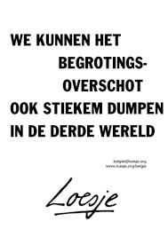 Begrotingsoverschot, Liesje